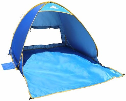 8 - OutdoorsmanLab Automatic Pop Up Beach Tent