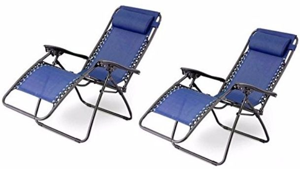 #8 Outsunny Zero Gravity Recliner Lounge Patio Pool Chair