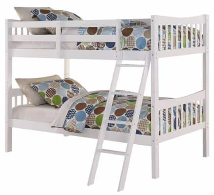 #9 Angel Line Fremont Twin Over Twin Bunk Bed
