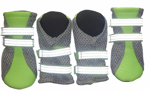 9 - Lonsuneer Puppy Daily Soft Sole Nonslip Mesh Boots