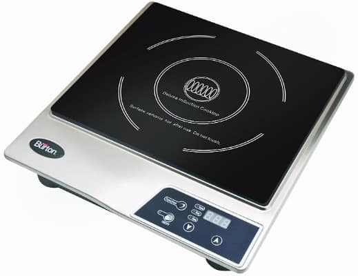 #9 Max Burton 6200 Maxi-Matic Deluxe 1800-Watt Induction Cooktop, Black
