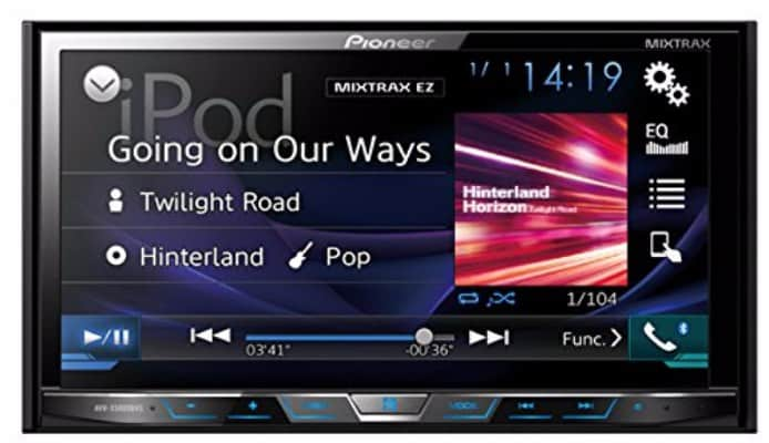 """#1 Pioneer AVHX5800BHS 2-DIN Receiver with 7.0"""" Display/Built-In Bluetooth"""