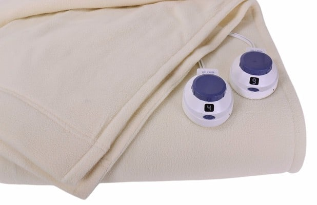 #1 Soft Heat Luxury Micro-Fleece Low-Voltage Electric Heated King Size Blanket
