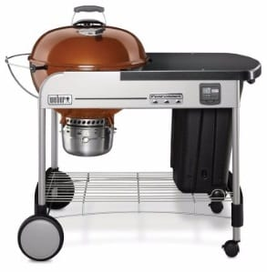 #1 Weber 15402001 Performer Premium Charcoal Grill, 22-Inch