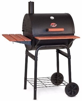 #10 Char-Griller 2123 Wrangler 635 Square Inch Charcoal Grill Smoker