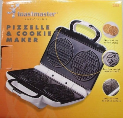 #10 Toastmaster Pizzelle and Cookie Maker