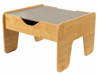 #2 KidKraft 2-in-1 Activity Table with Board, Gray/Natural