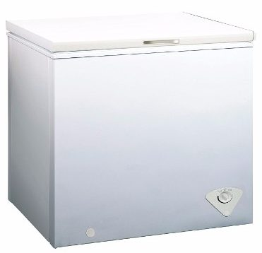 #2 Midea WHS-258C1 Single Door Chest Freezer