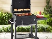 #3 Expert Cast Iron Heavy Duty Cooking Grates Charcoal Grill 24 Inches