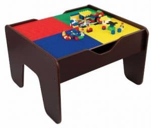 #3 Kidkraft 2-in-1 Activity Table Espresso