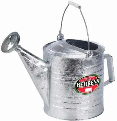 #4 Behrens 210 2-12-Gallon Steel Watering Can