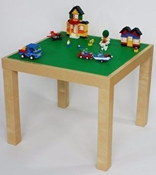 Charmant #4 LEGO PLAY TABLE   BIRCH COLOR