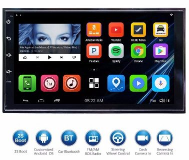 "#5 ATOTO 7""HD Touchscreen 2Din Android Car Navigation Stereo"