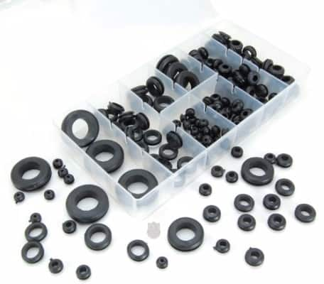 #6 180-Piece Rubber Grommet Shop Assortment