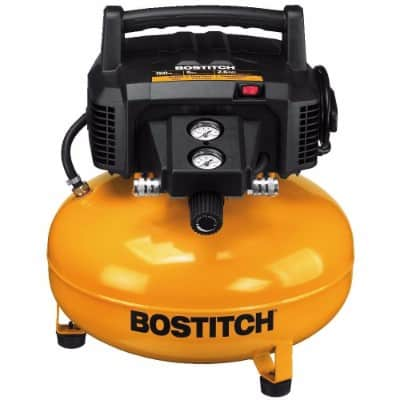 #6 Bostitch BTFP02012 6 Gallon 150 PSI Oil-Free Compressor