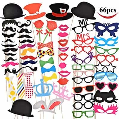 #6 Joyin Toy B01F3288OE Photo Booth Props