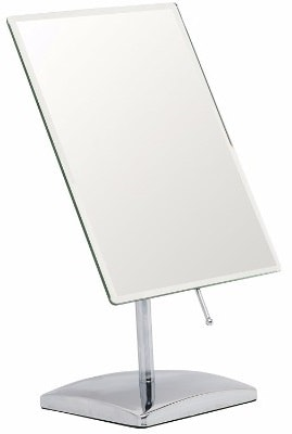 #6 Mirrorvana Rectangular Glass Surface 9.8 inch x 7-inch Non- Magnifying Vanity Mirror