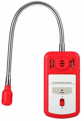 #6 SGILE Combustible Natural Gas Detector Portable Gas Leak Detector