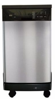 #6 SPT SD-9241SS Energy Star Portable Dishwasher