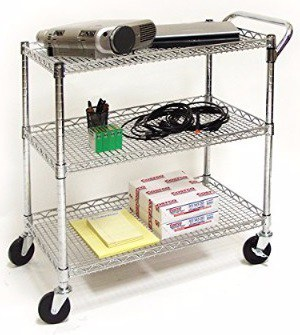 #6 Seville Classics Industrial All-Purpose Utility Cart