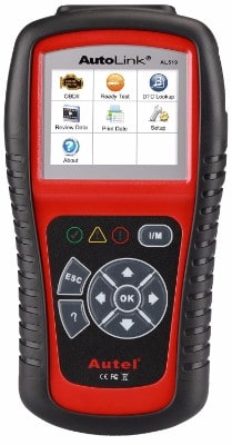 #7 Autel AL519 AutoLink Enhanced OBD ll Scan Tool with Mode 6