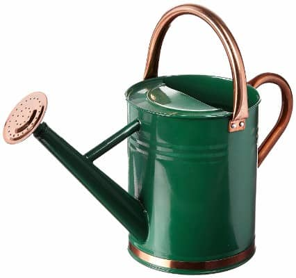 #7 Gardman 8327 Hunter Green Galvanized Steel Watering Can