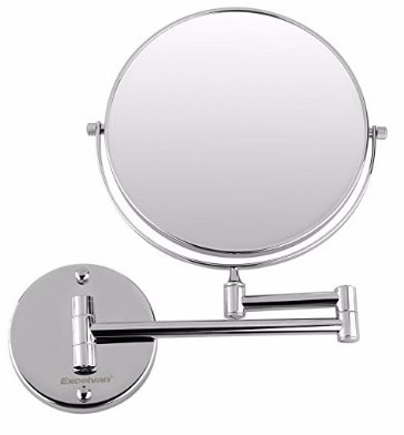 #8 Excelvan 10x Magnification 8 Inch Double-Sided Swivel Wall Mount Makeup Mirror