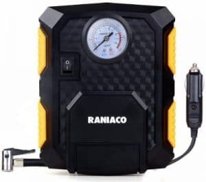 #8 Raniaco 12V DC 150PSI Portable Electric Auto Air Compressor Pump and Car Tire Inflator