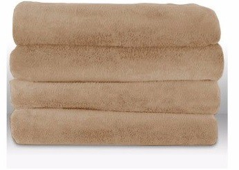#8 Sunbeam Microplush Throw Camelot Cuddler Heated Electric Warming Blanket