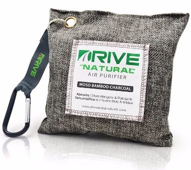 #9 DRIVE Natural Car Air Freshener (Gray)