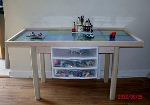 #9 Large Lego Compatible Activity Table