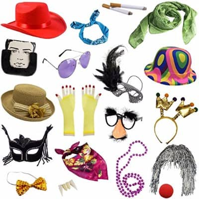 #9 Photo Booth Props - Assorted Photo Booth Kit by Funny Party Hats