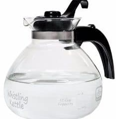 #2 Hiware Good Glass Teapot with Stainless Steel Infuser & Lid