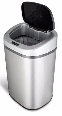 #1 NINESTARS DZT-80-4 The Original Touchless Automatic Motion Sensor Trash Can