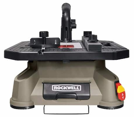 #1 Rockwell BladeRunner X2 Portable Tabletop Saw with Steel Rip Fence