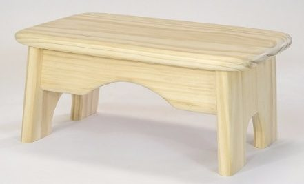 #10 Handcrafted 100% Solid Wood Step Stool