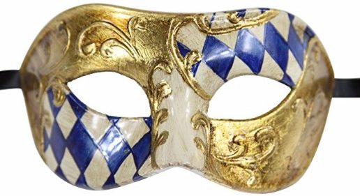 #10 Luxury Mask High Quality Venetian Party Mask