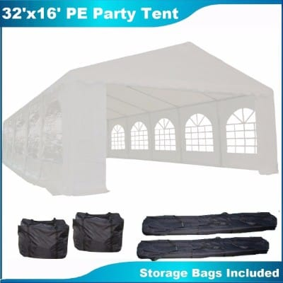 #2 32'x16' PE Party Tent White