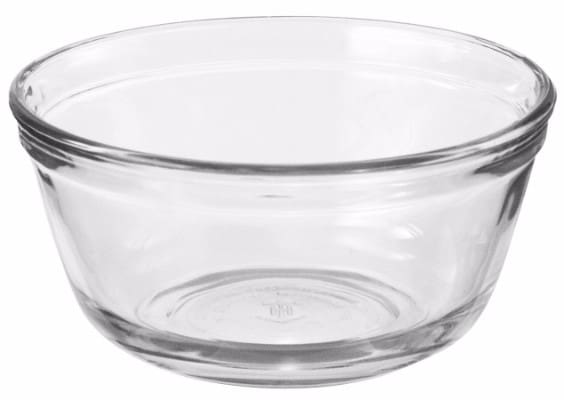 #2 Anchor Hocking Glass Food Prep and Mixing Bowls