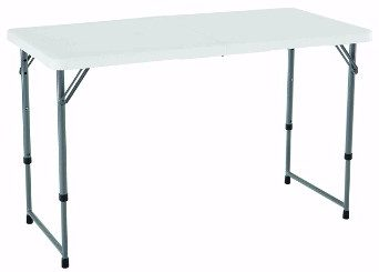 #2 Lifetime 4428 Height Adjustable Folding Utility Table