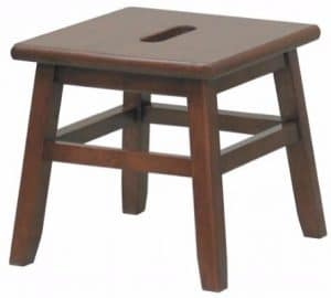 #2 Walnut Conductor Stool - Winsome