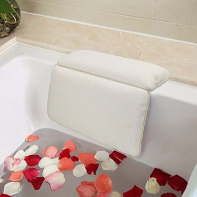 Top 10 Best Non-Slip Bath Pillows – In 2021 Review