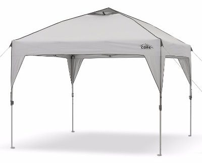 #3 CORE 10' x 10' Instant Shelter Pop-Up Canopy Tent
