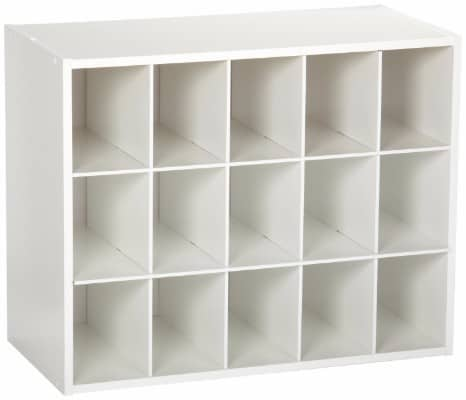 #3 ClosetMaid 8983 Stackable 15-Cube Organizer