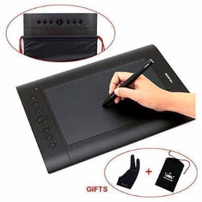 #3 Huion H610 Pro Graphic Drawing Tablet