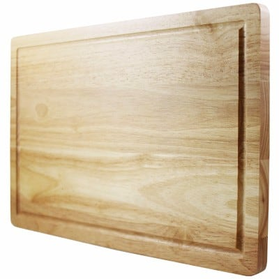 Latest Cutting Board - Lifetime Replacement Warranty - Best Rated Hardwood Chopping Block