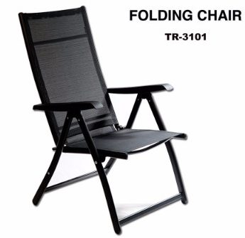 #4 Heavy Duty Durable Adjustable Reclining Folding Chair Outdoor Indoor