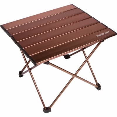 #4 Trekology Portable Camping Tables with Aluminum Table Top