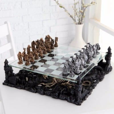 #5 Dragon Chess Set