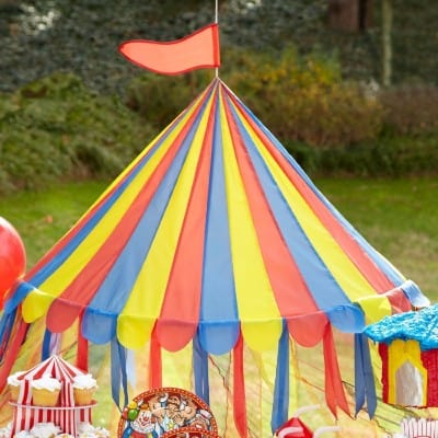 #5 Fun Express Big Top Canopy Tent Party